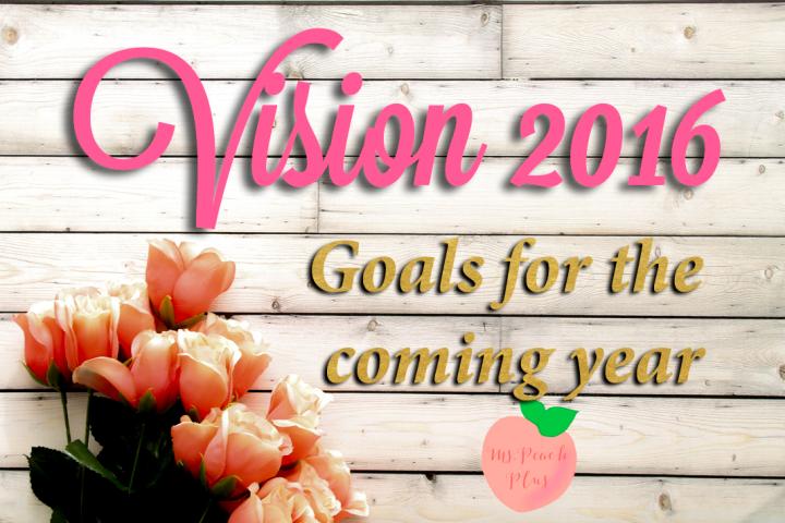 Goals for 2016 ~ Ms. Peach Plus