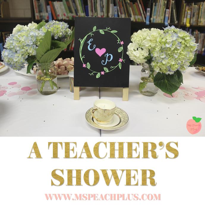 A Teacher's Shower