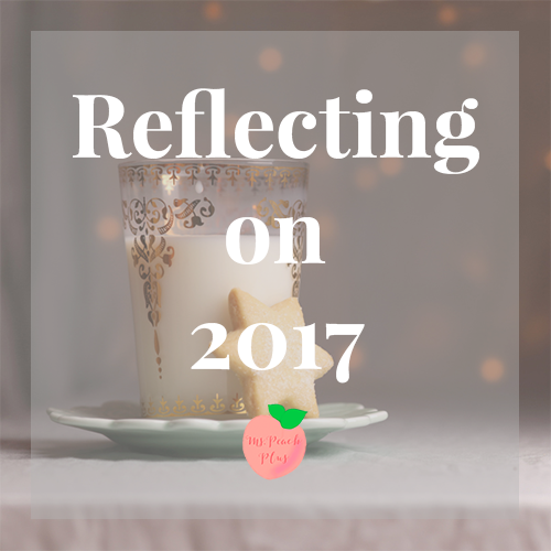 Ms. Peach Plus Reflecting on 2017