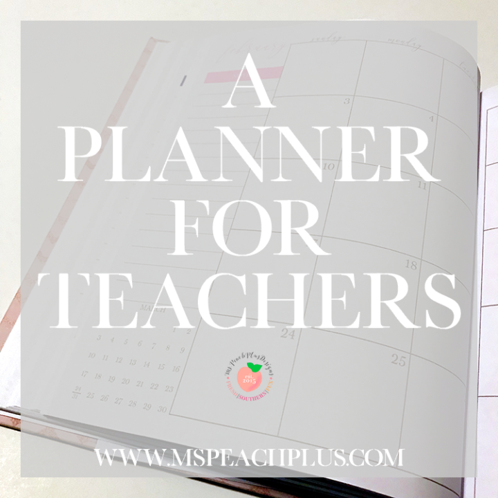 A Planner for Teachers